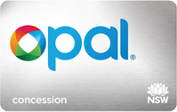 Order a Concession Opal card